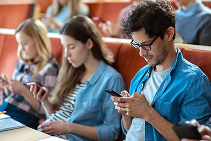 Generation Alpha Studenten