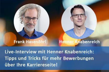 Henner Knabenreich Karriereseite