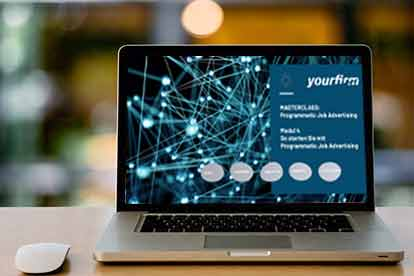 Masterclass Programmatic Job Advertising Laptop