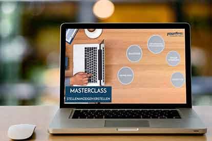 Masterclass Stellenanzeigen erstellen