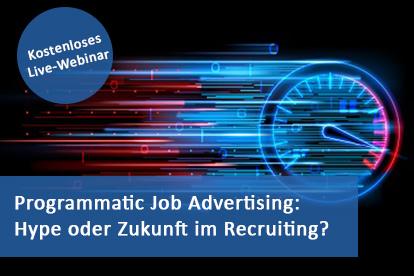 Programmatic Job Advertising