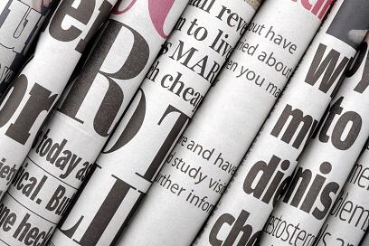 Presse Zeitungen Klein